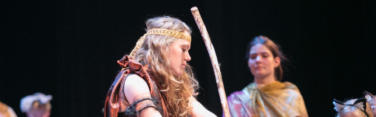 Theatervoorstelling Odysseus, regie Lieke Deelstra